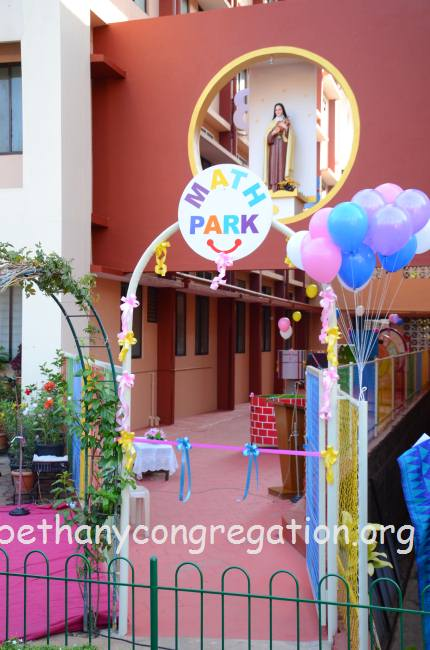 the main objective of the park is to introduce mathematics in a creative and innovative way and create an easy to learn concept to help students facing