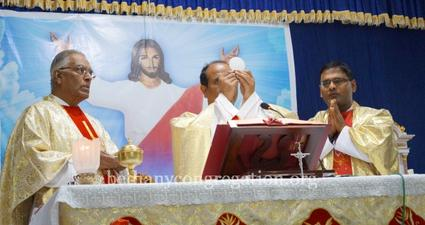 Foundation Day Celebration at the Mother House in pictures