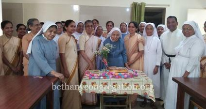 The 99th birthday of Sr Refuge