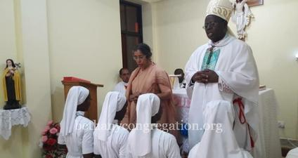 Installation of the Novitiate in Tanzania Delegation