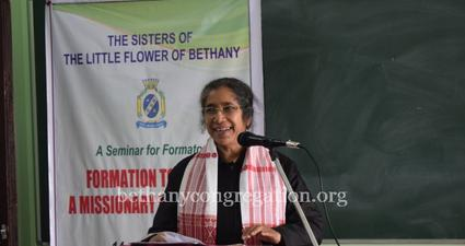 Formators with Sr Rose Celine in Umsning, Shillong