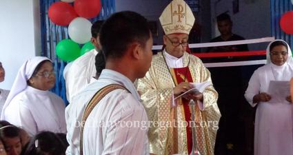 Blessing and Inauguration of the Convent Building at Samoguri in Arunachal Pradesh
