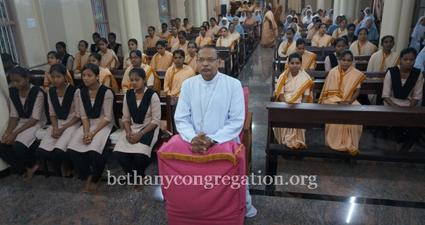 Bishop Peter Paul Saldanha Welcomed in Bethany