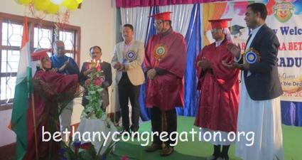 Venerable Uktara Bethany College Manmow, Namsai Arunachal Pradesh Celebrates its First Graduation Day