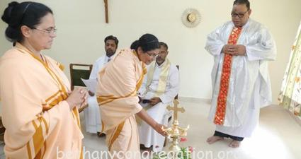 Blessing of the new Convent Building and House of Formation Pakhal, Faridabad, Haryana