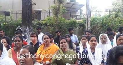 BLA members of Jyothi Convent Bangalore organised Youth & Mission